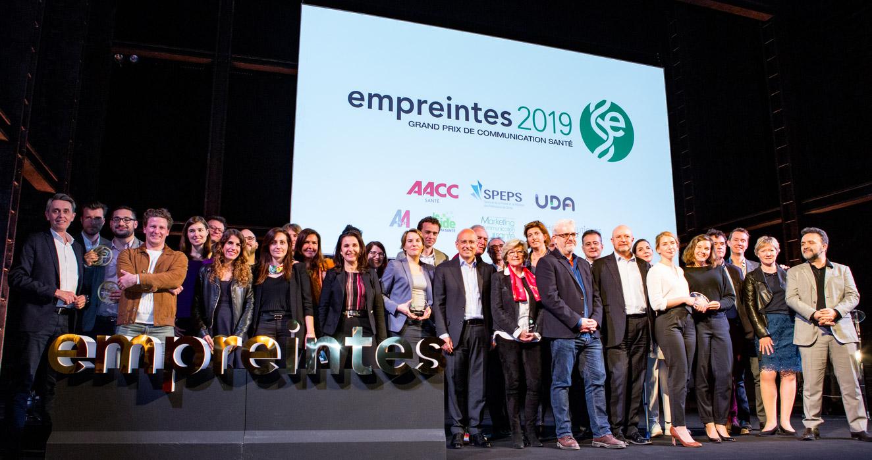 Palmarès Empreintes 2019 : 22ème édition du Grand Prix de la communication santé