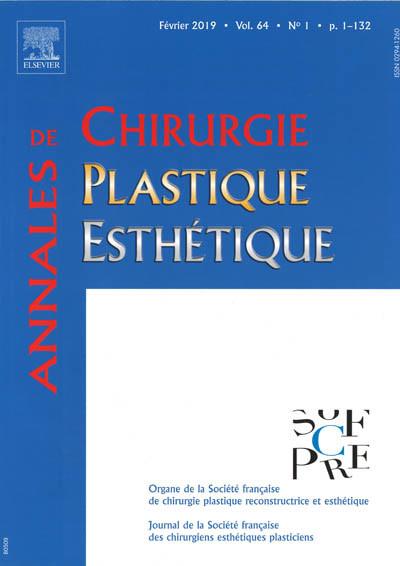 ANNALES DE CHIRURGIE PLASTIQUE ESTHETIQUE