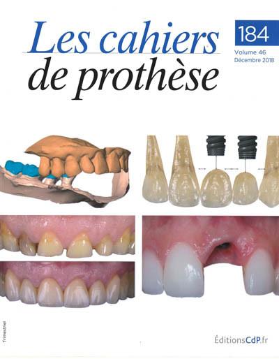 CAHIERS DE PROTHESE (LES)