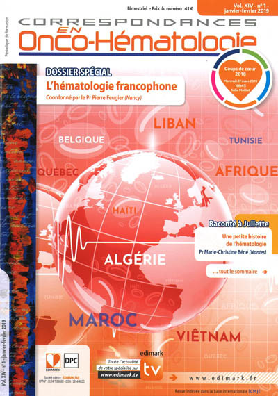 CORRESPONDANCES EN ONCO-HEMATOLOGIE