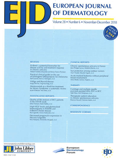 EJD (European Journal of Dermatology)
