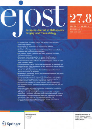 EJOST (European Journal of Orthopaedic Surgery and Traumatology)