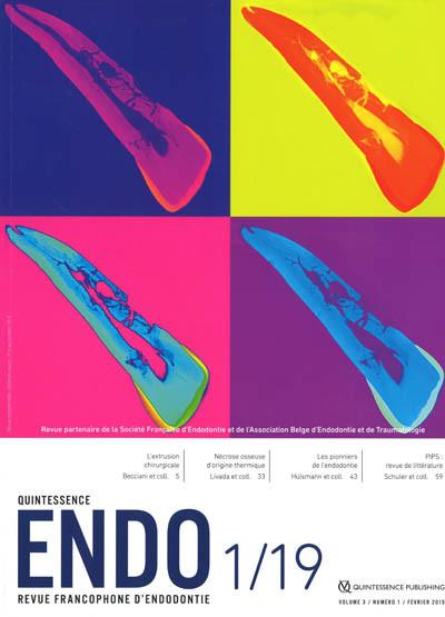 ENDO - Quintessence revue Francophone d'endodontie