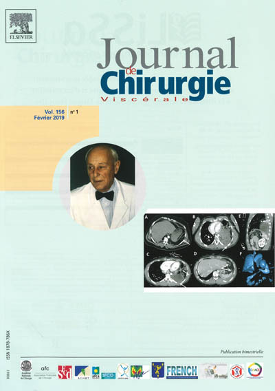 JOURNAL DE CHIRURGIE VISCERALE