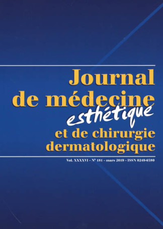 JOURNAL DE MEDECINE ESTHETIQUE ET DE CHIRURGIE DERMATOLOGIQUE