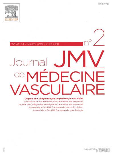 JOURNAL DE MEDECINE VASCULAIRE - JMV