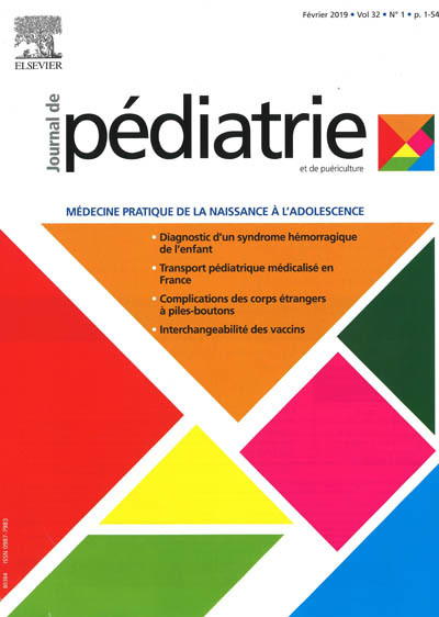 JOURNAL DE PEDIATRIE ET DE PUERICULTURE