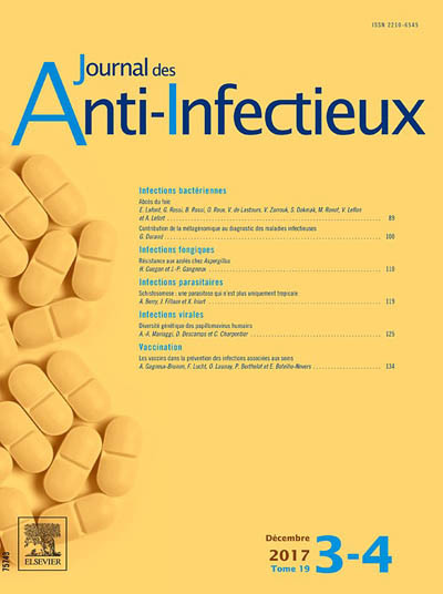 JOURNAL DES ANTI-INFECTIEUX