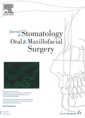 JOURNAL OF STOMATOLOGY ORAL & MAXILLOFACIAL SURGERY