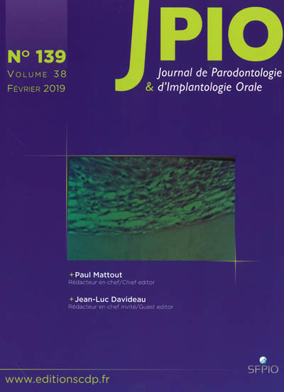 JPIO (Journal de Parodontologie & d'Implantologie Orale)