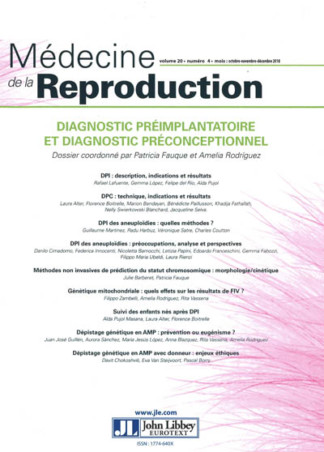 MEDECINE DE LA REPRODUCTION