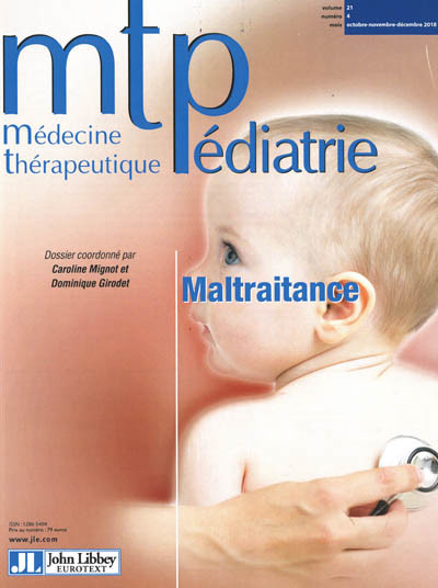 MEDECINE THERAPEUTIQUE PEDIATRIE