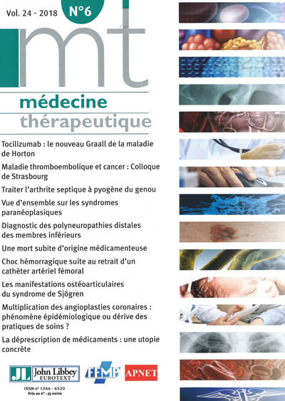 MEDECINE THERAPEUTIQUE
