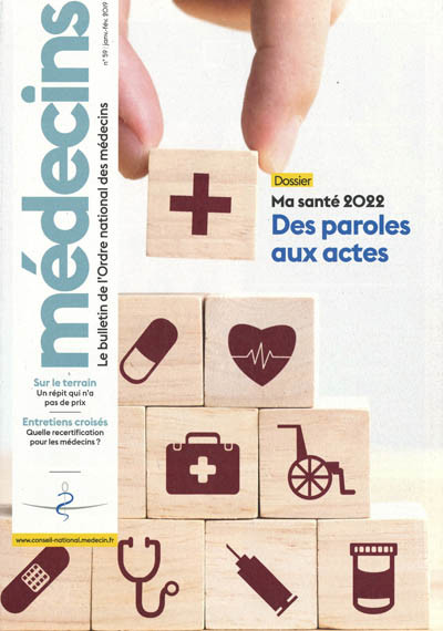 MEDECINS - Bulletin d'information de l'Ordre national des médecins
