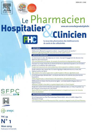 PHARMACIEN HOSPITALIER & CLINICIEN (LE)