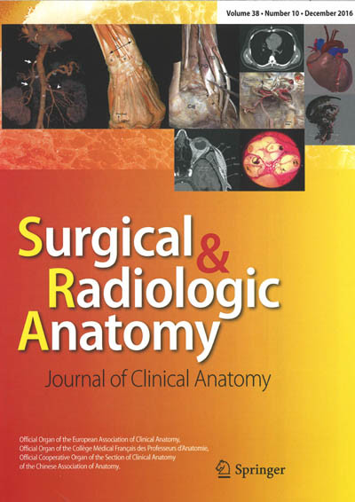 SURGICAL & RADIOLOGIC ANATOMY